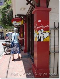 Bookworm Bookshop, Hanoi Vietnam