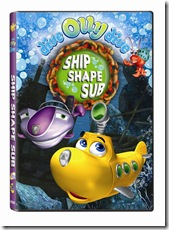Dive Olly Dive Ship Shape Sub DVD