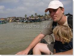 Boat in Hoi An, Vietnam