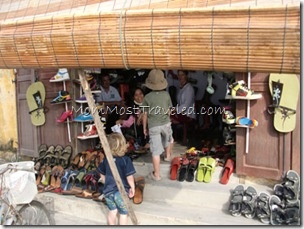 Cobbler in Hoi An, Vietnam