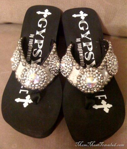 ae612d46f Gypsy Soule Mom Most Traveled. Gypsy Soule Swarovski Crystals Sandal ...
