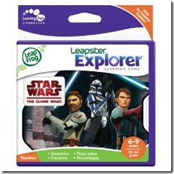 Clone Wars Leapster Explorer Game