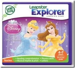 Disney Princess Leapster Explorer Game