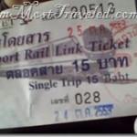 Airport Rail Link SRTET Bangkok