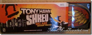 tony hawk shred home