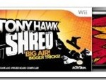 Tony Hawk: Shred for Wii, XBox 360, and Playstation