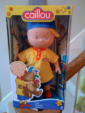 Caillou Doll And Caillou Learning Train Mom Most Traveled