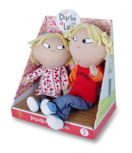 Charlie and lola poseable dolls 259x300