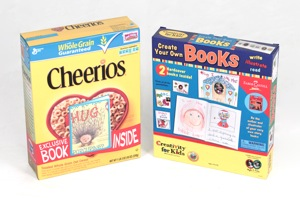 Cheerios New Author