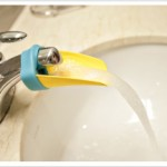 Aqueduck Helps Shorties Reach Faucets