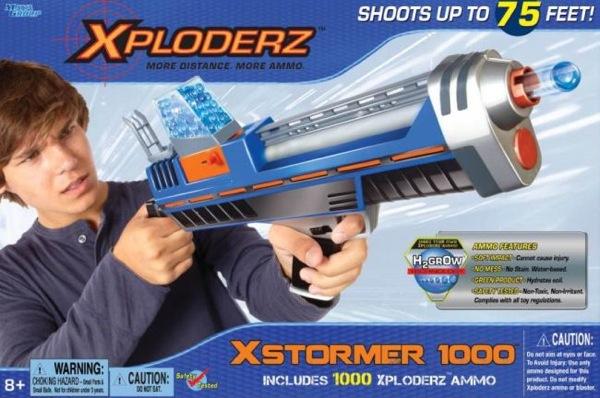 Xploderz gun