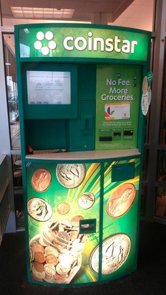 what does a coinstar machine do