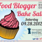 The Third National Food Bloggers Bake Sale is coming to kitchens near you on April 28