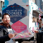 Free Cookies From @americanexpress @momomilkbar #AmexMakeMyDay