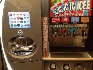 Coke Freestyle Machine at #WAGDC