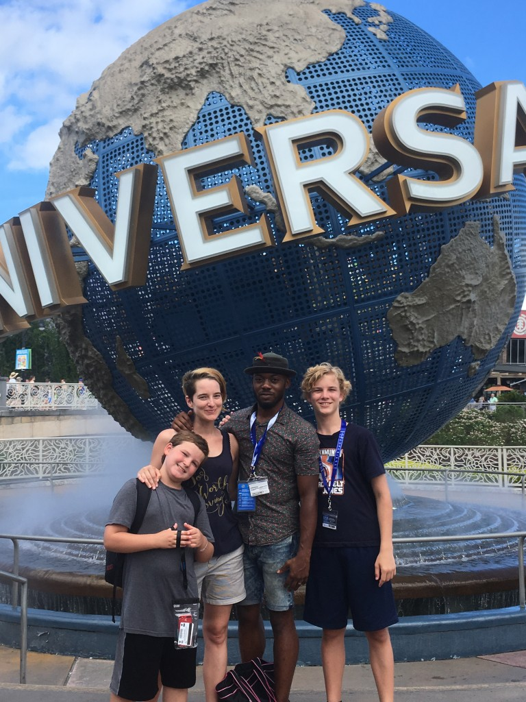 Universal Studios Orlando Blogger Family