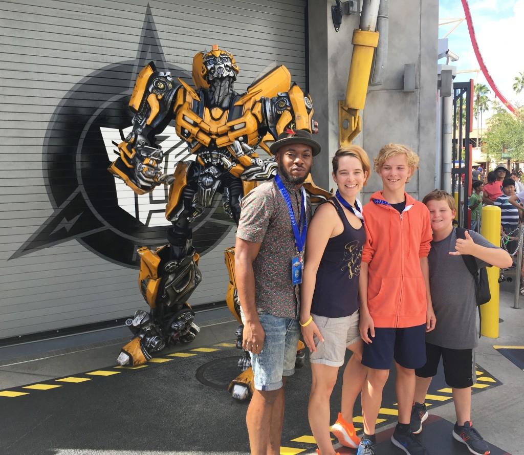 Universal Studios Orlando Bumblebee