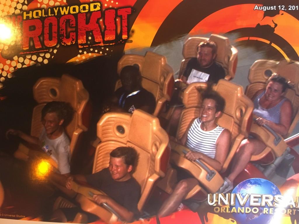 Universal Studios Orlando Rip Ride Rocket